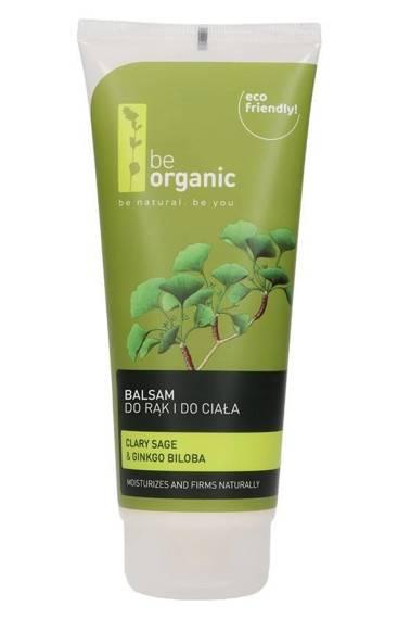 Be OrganicBalsam do rąk i do ciała Szałwia &Miłorząb japoński