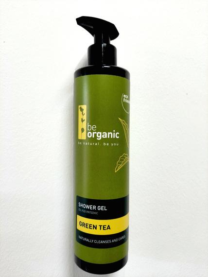Be OrganicŻel myjący  do rąk i ciała Zielona Herbata