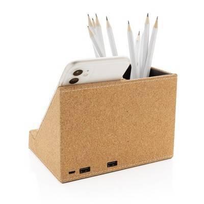 Ładowarka bezprzewodowa 5W, organizer na biurko