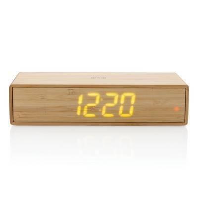 Ładowarka bezprzewodowa 5W, zegar cyfrowy