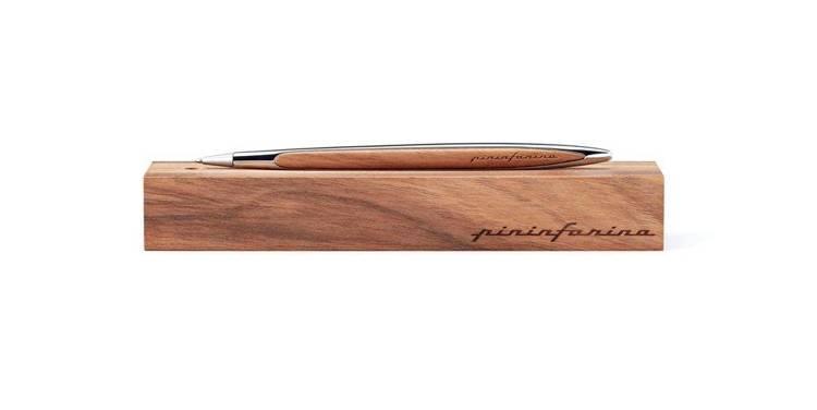 PININFARINA Segno długopis Cambiano Ink Polish Chrome z chromowymi dodatkami